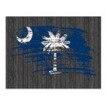 Cool South Carolinian flag design Post Cards