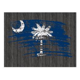 Cool South Carolinian flag design Postcard