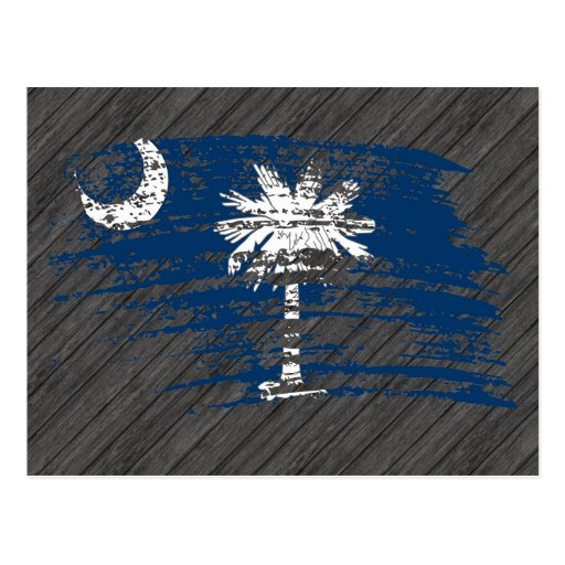 Cool South Carolinian flag design Post Cards