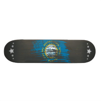 Cool South Dakotan flag design Skateboard Deck