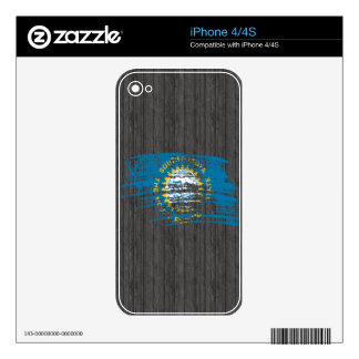 Cool South Dakotan flag design Decal For iPhone 4S