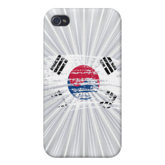 Cool South Korean flag design iPhone 4/4S Cover