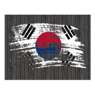 Cool South Korean flag design Postcard