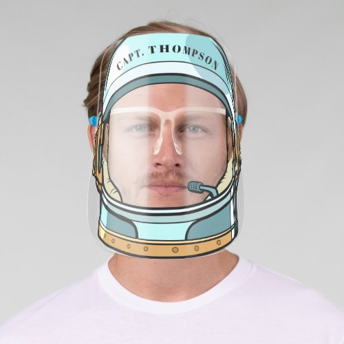 Cool Space Astronaut Helmet Face Shield