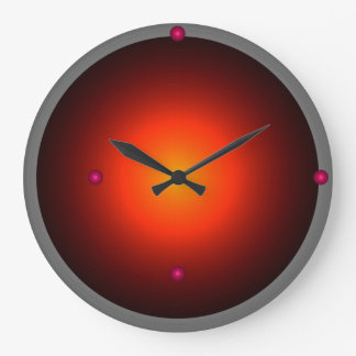 Cool Space City Style Urban Hipster Large Clock