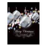 Cool Sparkling Christmas Ornament Postcards