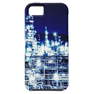 Cool Sparkling Lights Oil Refinery Night Scene iPhone 5 Case