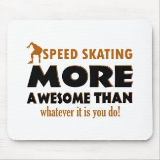 Cool Speed Skating designs Mouse Pad