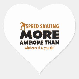 Cool Speed Skating designs Sticker