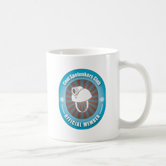 Cool Spelunkers Club Classic White Coffee Mug