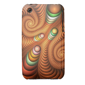 Cool Spiral Fractal iPhone 3G/3GS Case iPhone 3 Case-Mate Cases