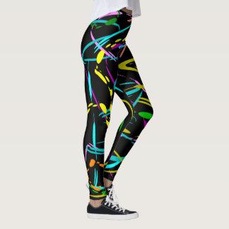 Cool Splash of Color Leggings