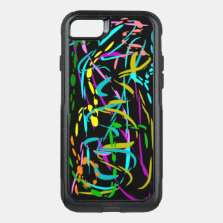 Cool Splash of Color OtterBox Commuter iPhone 8/7 Case