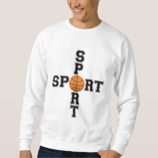 Cool Sport Basketball Cross Sweatshirt