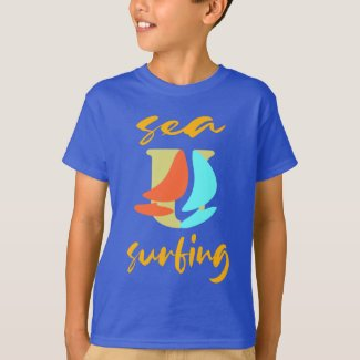 Cool Sport Surfing Windsurfing T-Shirt