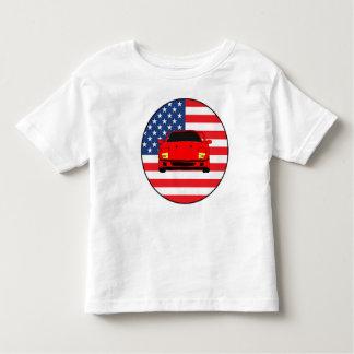 Cool sports car design toddler t-shirt