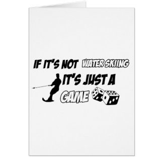 Cool sports designs greeting card