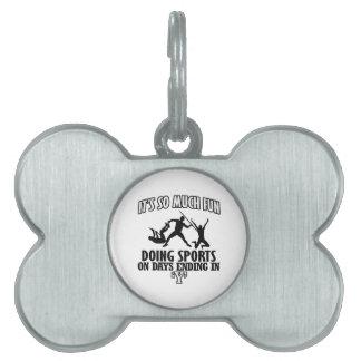 cool Sports DESIGNS Pet ID Tag