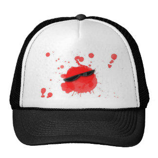 Cool Spot Blood Trucker Hat