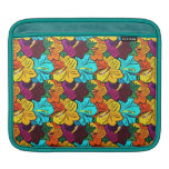 Cool   spring colourful  flowers sleeve sleeves for iPads