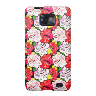Cool  spring red pink white flowers Samsung case Samsung Galaxy S2 Cover