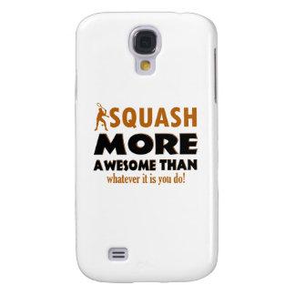 Cool Squash design Galaxy S4 Case