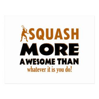 Cool Squash design Postcard