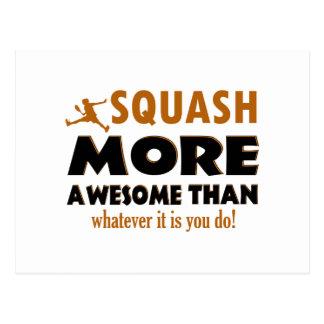 Cool Squash designs Postcard