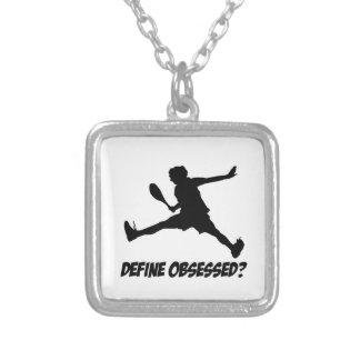 Cool squash designs square pendant necklace