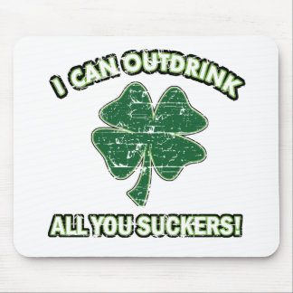 Cool St' Patrick's day designs Mouse Pad