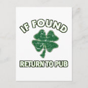 Cool St' Patrick's day designs Post Card