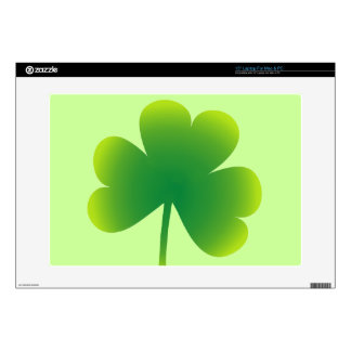 Cool St Patrick's Day Shamrock Laptop Decal