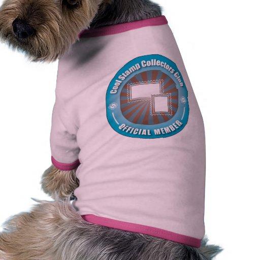 Cool Stamp Collectors Club Pet T-shirt