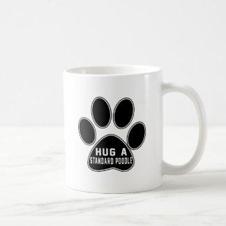 Cool Standard Poodle Designs Classic White Coffee Mug