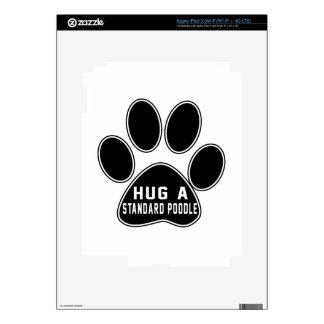 Cool Standard Poodle Designs Skins For iPad 3