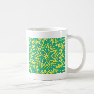 Cool Star Shaped Colorfull Pop Tye Dye Coffee Mug