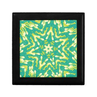 Cool Star Shaped Colorfull Pop Tye Dye Gift Box