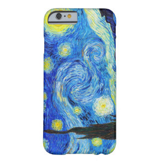 Cool Starry Night Vincent Van Gogh painting Barely There iPhone 6 Case