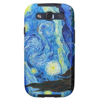 Cool Starry Night Vincent Van Gogh painting Samsung Galaxy SIII Covers