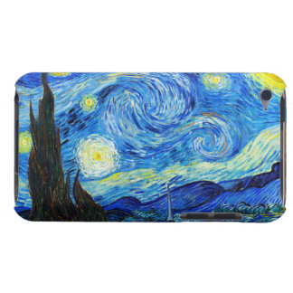 Cool Starry Night Vincent Van Gogh painting iPod Touch Case