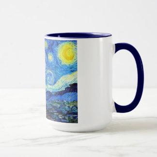 Cool Starry Night Vincent Van Gogh painting Mug