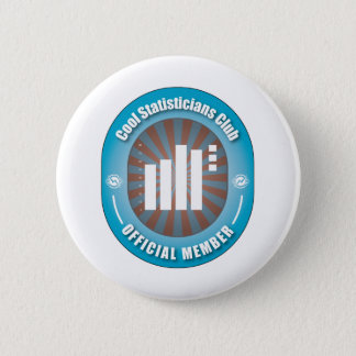 Cool Statisticians Club Pinback Button