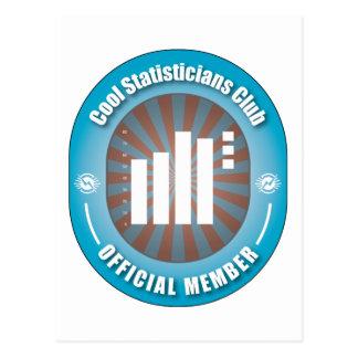 Cool Statisticians Club Postcard
