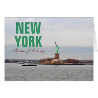 Cool Statue of Liberty - NY New York Card