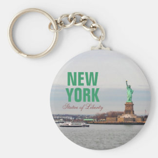 Cool Statue of Liberty - NY New York Keychain