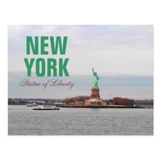 Cool Statue of Liberty - NY New York Postcard