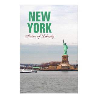 Cool Statue of Liberty - NY New York Stationery