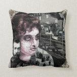 Cool Steam Punk Art Design Throw Pillow