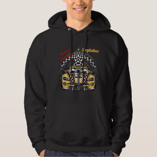 Cool Stepfather Fathers Day Gifts Hoodie