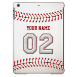 Cool Stitched Baseball Number 2 Cover For iPad Air